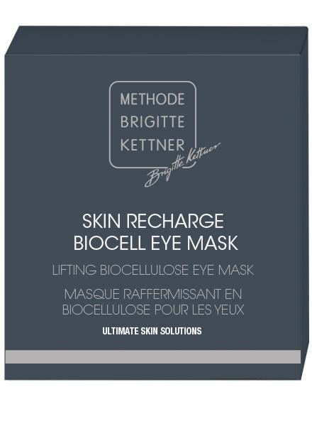 skin recharge bio-cellulose eye mask